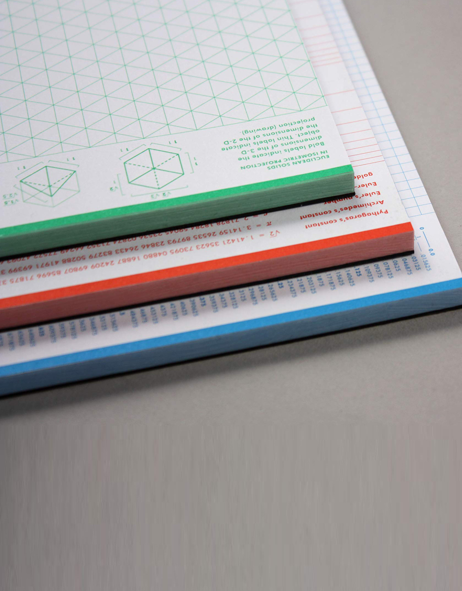 Grids and Guides Notepad Set