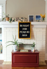 Do Right & Fear No Man Camp Flag