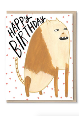 Happy Birthday Beast Greeting Card
