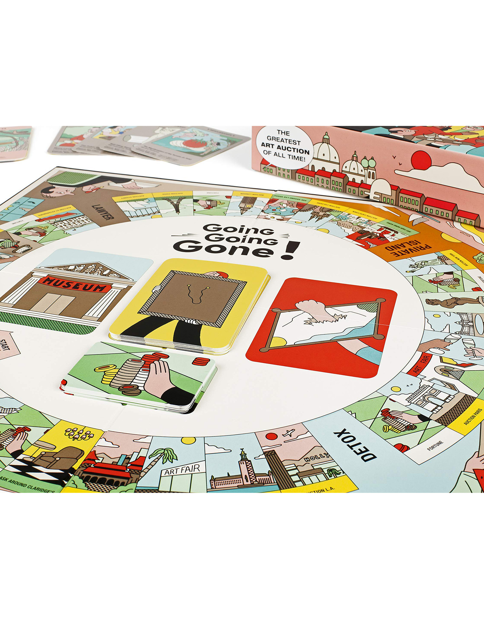 Going Going Gone Board Game
