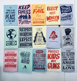 Set of 15 Resist Protest Posters