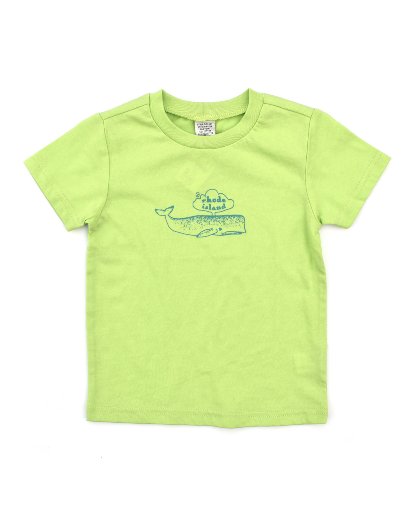 RI Whale Toddler T-Shirt
