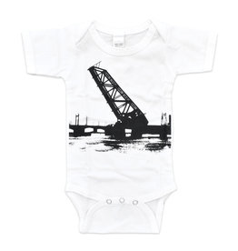 Train Bridge Onesie