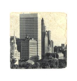 Providence Skyline Coaster (Black/White)