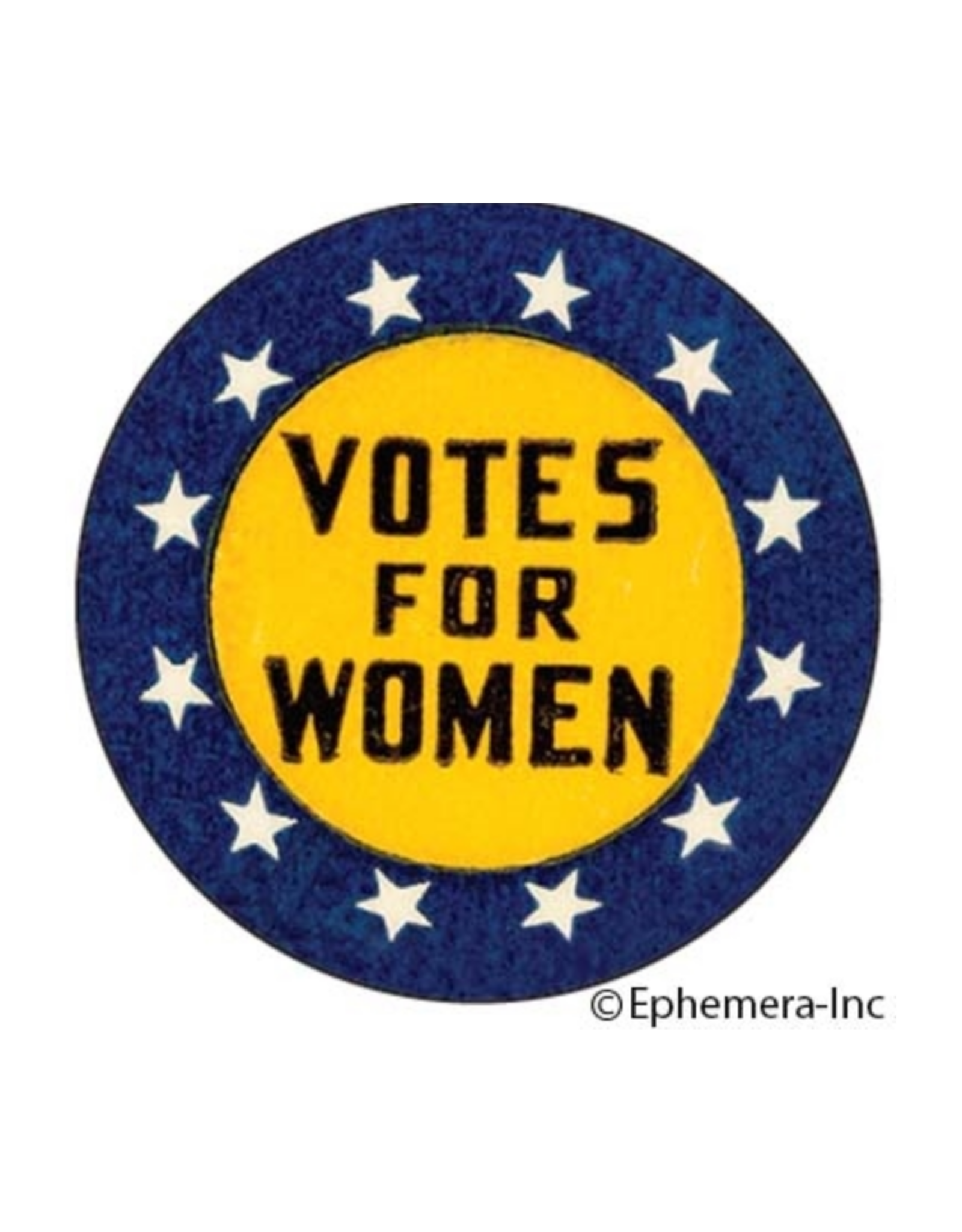 Votes For Women Button