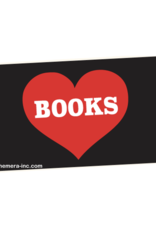 I Heart Books Bumper Sticker