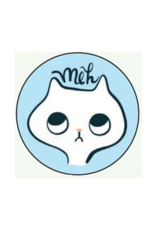 Meh Cat Button