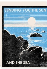 Sending You The Sun And The Sea Greeting Card
