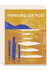 Thinking of You Lake Greeting Card