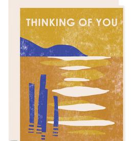 Thinking of You Lake Greeting Card