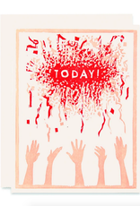 Today! Confetti Greeting Card