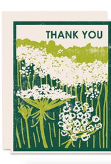 Thank You Queen Anne's Lace Greeting Card Set of 6