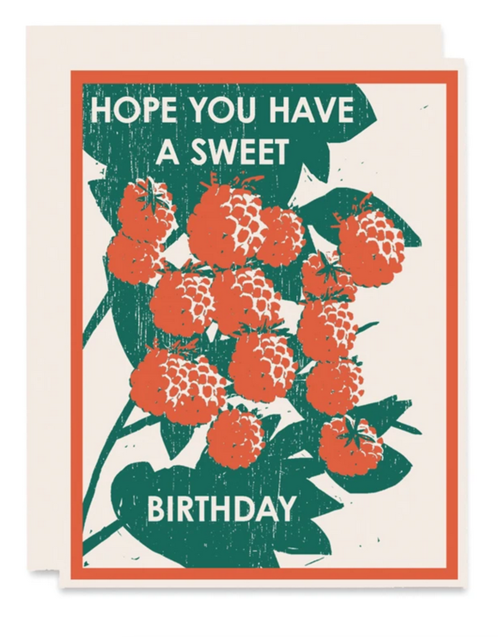 I Hope You Have a Sweet Birthday Greeting Card