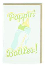 Poppin' Bottles! Greeting Card