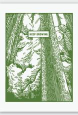 Keep Growing Trees Print