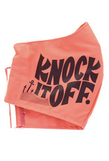Knock It Off Face Mask