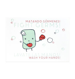 Fight Germs Print