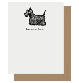 Beam Me Up, Scottie Greeting Card