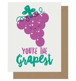 You're the Grapest Greeting Card