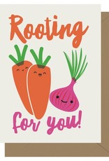 Rooting For You Greeting Card