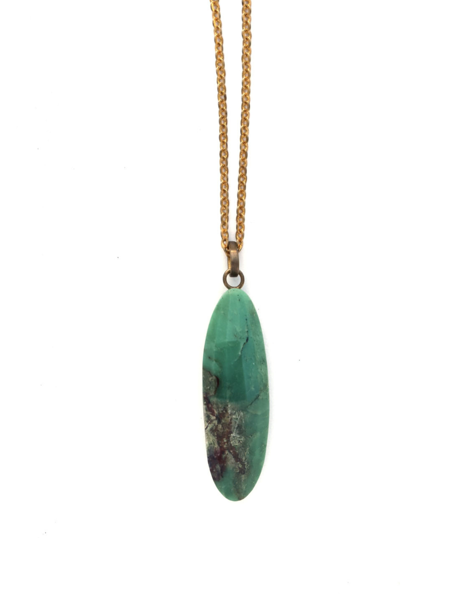 Tara Chrysoprase Pendant Necklace