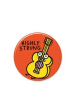 Highly Strung Guitar Button