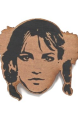 Britney Spears Wooden Magnet