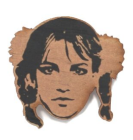 Britney Spears Wooden Magnet