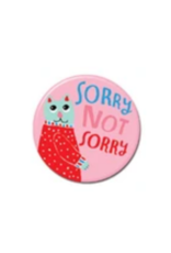 Sorry Not Sorry Cat Button