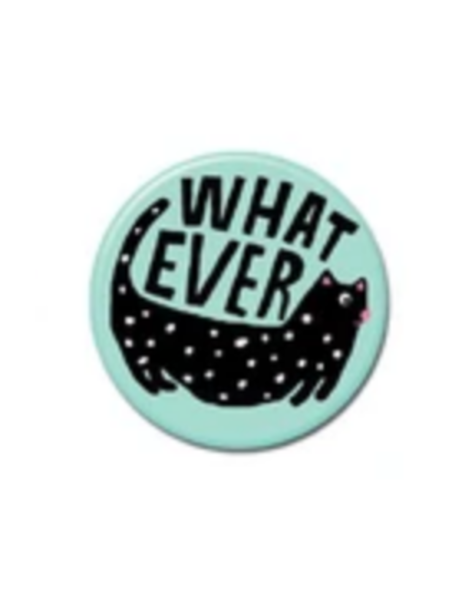 Whatever Cat Button