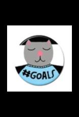 #Goals Cat Button