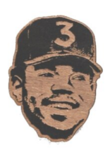 Chance the Rapper Wooden Magnet