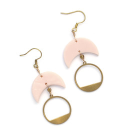 Go-Go Earrings - Nude