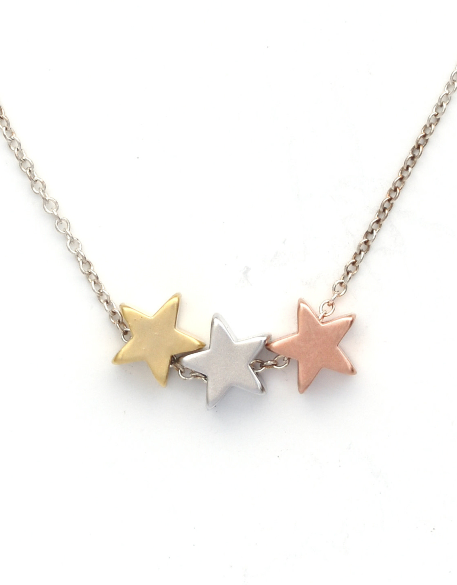 Three Wishes Stars Necklace