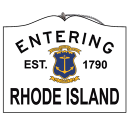 Entering Rhode Island Ornament