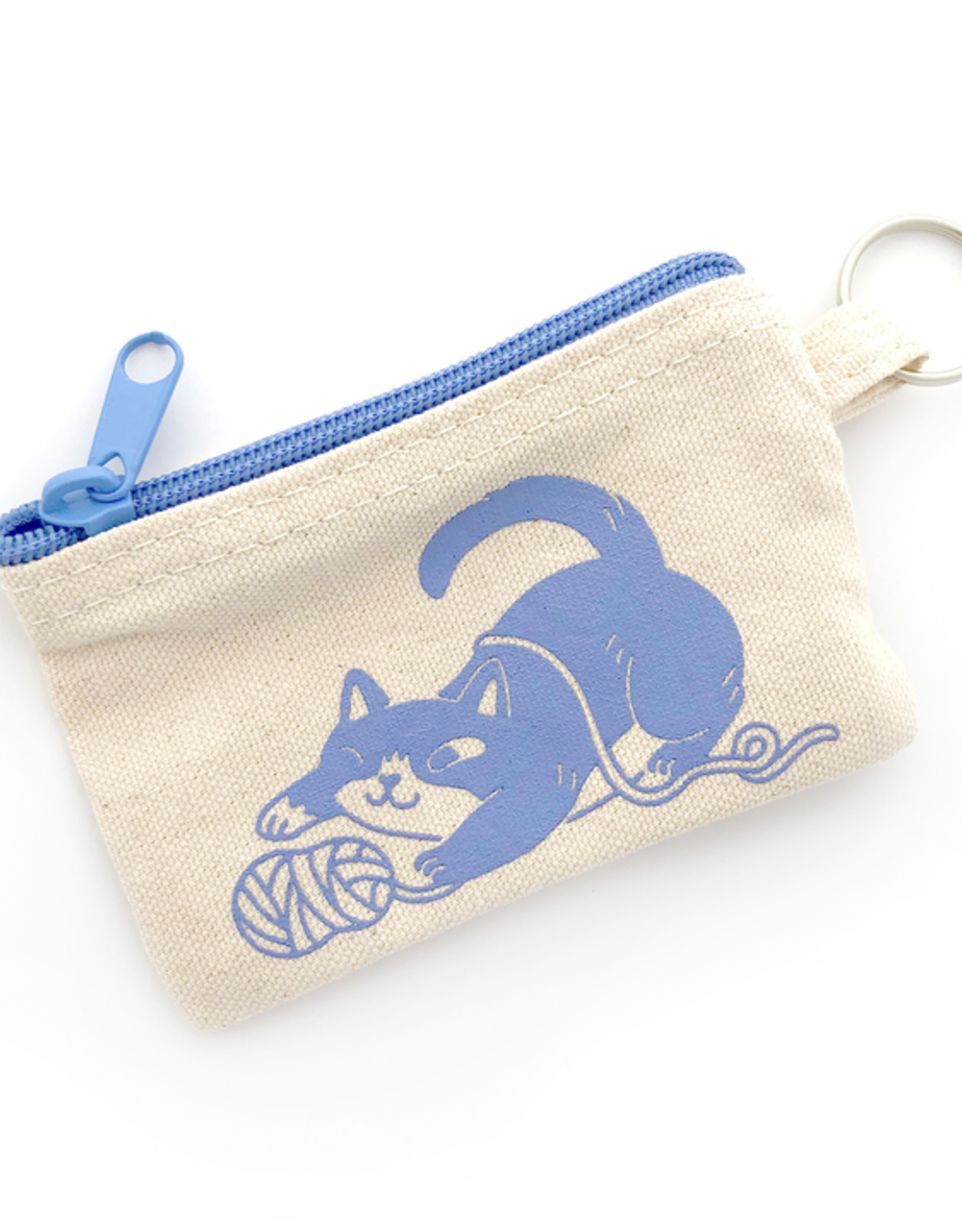 Yarn Cat Coin Pouch