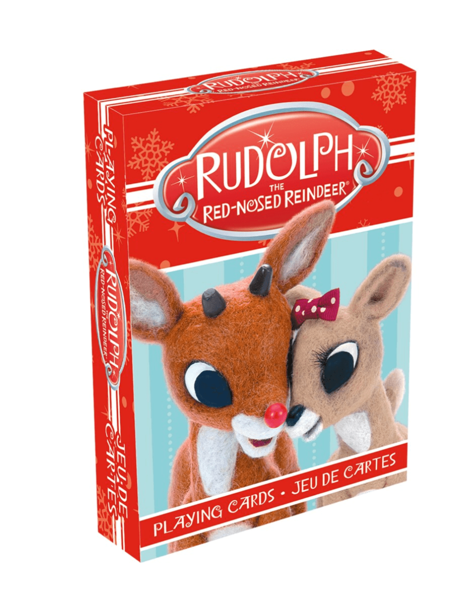 Rudolph Photos Playing Cards
