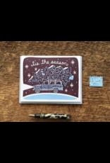 Tis The Season Tree Greeting Card