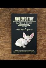 Hairless Cat Enamel Pin