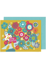 Many Thanks Bouquet Greeting Card