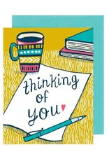 Thinking of You Coffee Greeting Card