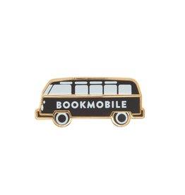 Bookmobile Enamel Pin