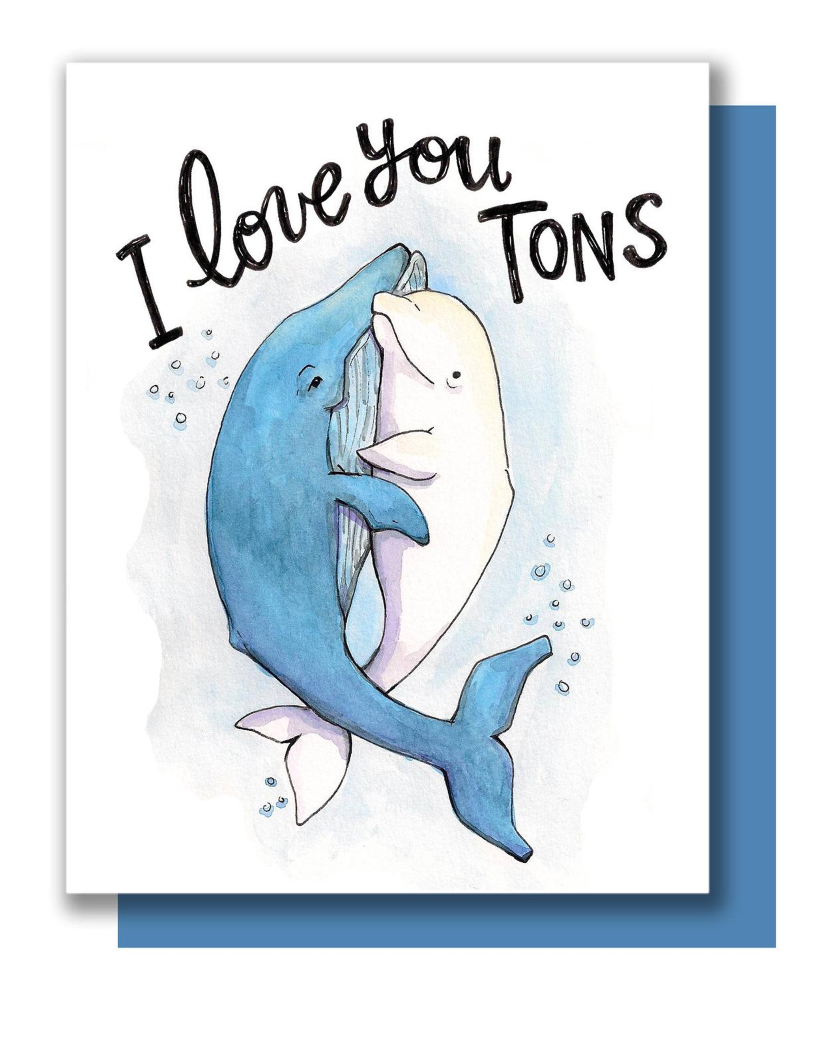 Love You Tons Greeting Card