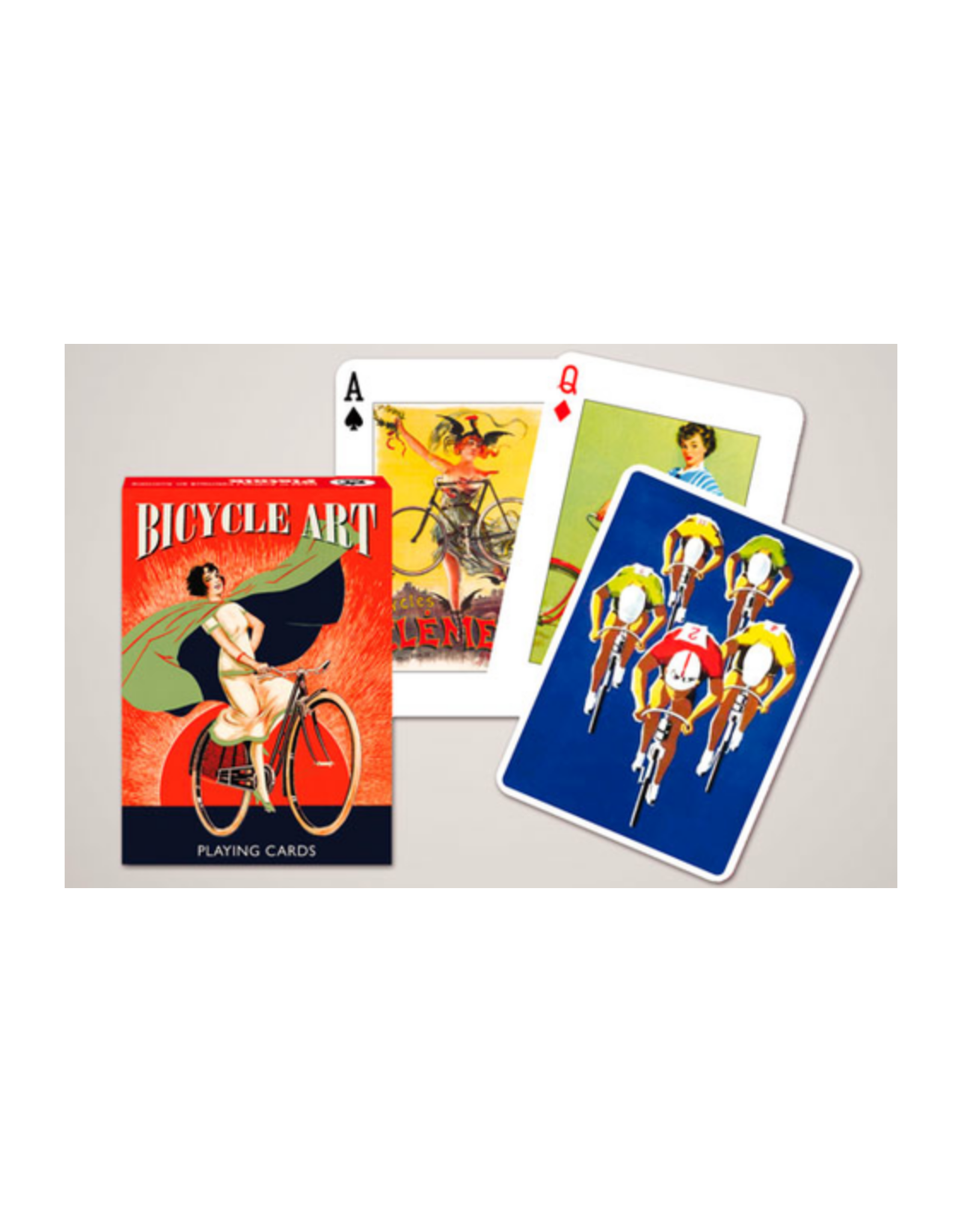 Bicycle Art Single Deck Playing Cards