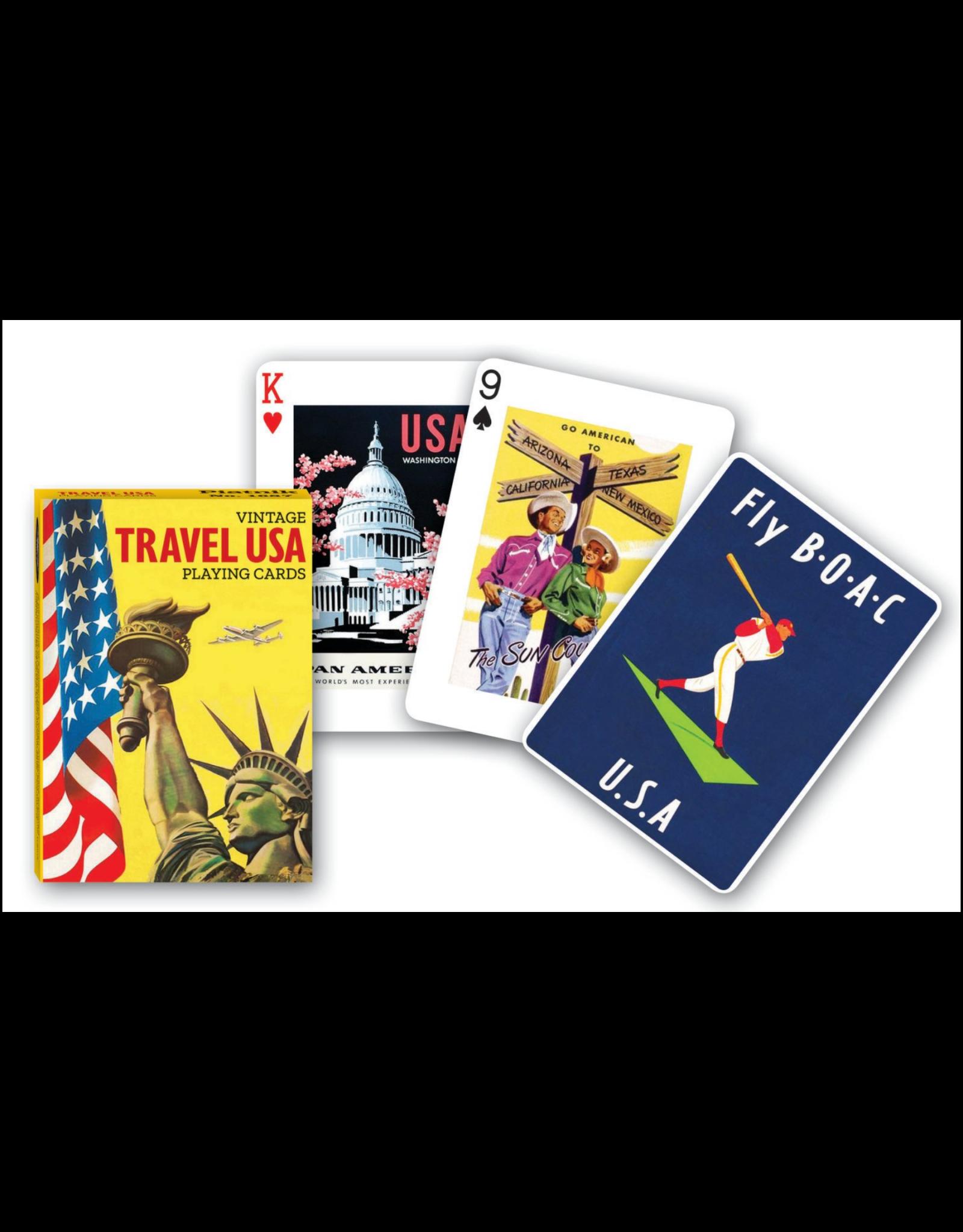 Travel USA Playing Card Deck