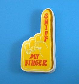 Sniff My Finger Vinyl Sticker