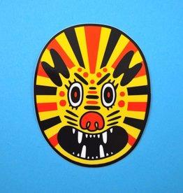 Lion Vinyl Sticker