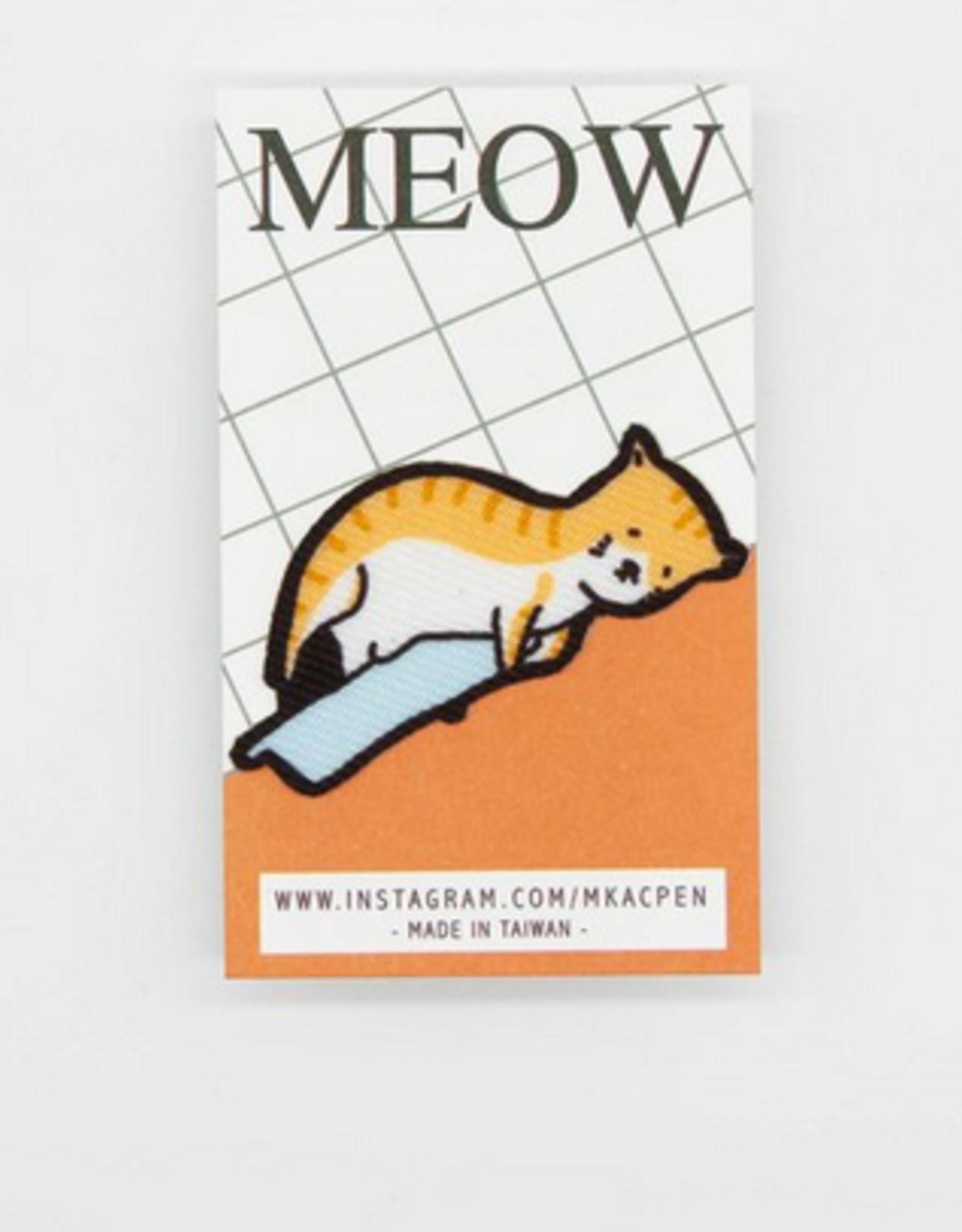 Linus the Sad Cat Sticker Patch