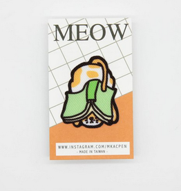 Josephine the Orange Cat & a Book Sticker Patch