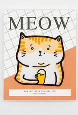 Jenny Beer Kitty Sticker Patch